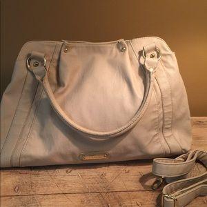 Steve Madden Large Taupe Multi Pocket Bag